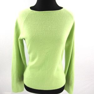 Talbots Pure Cashmere Roll Neck Sweater